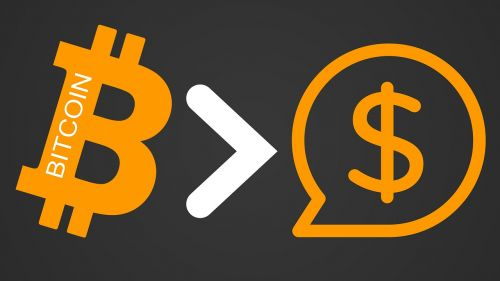 bitcoin cryptocurrency dollar
