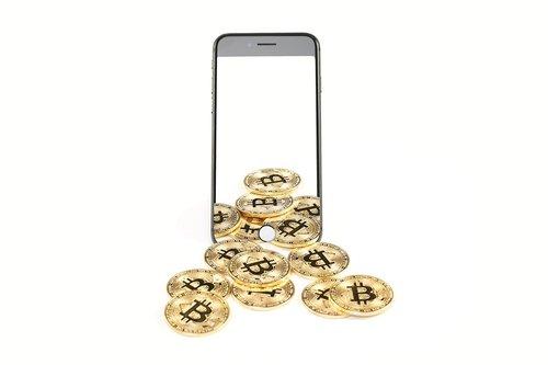 bitcoin  smartphone  money