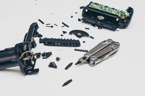 bits pieces broken