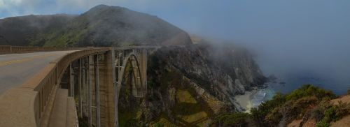 bixby bridge california usa