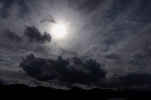 black clouds threat