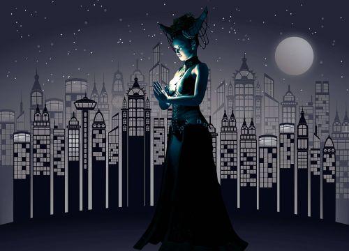 black background darkness
