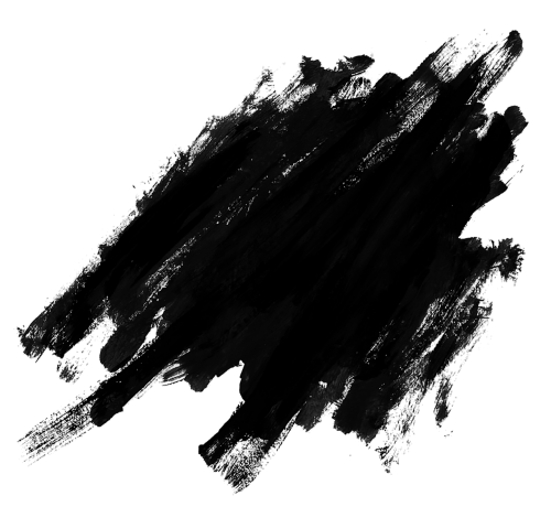 black splatter png