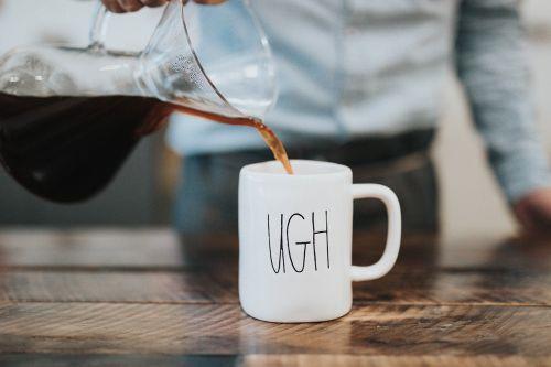 black coffee tea