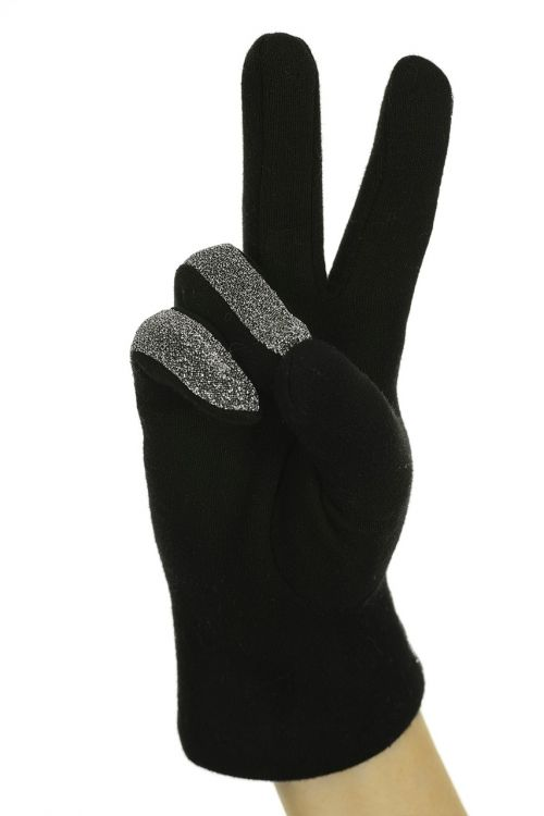black two glove