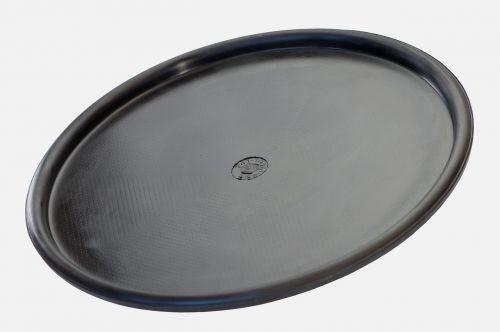 black circular industrial