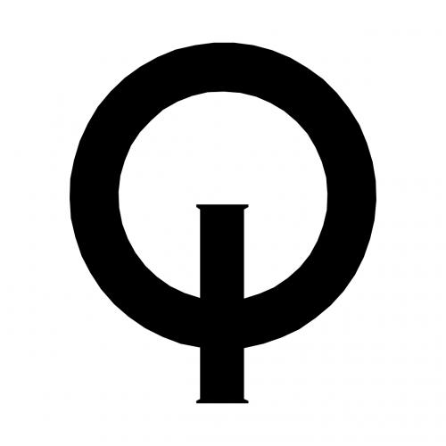 black round logo