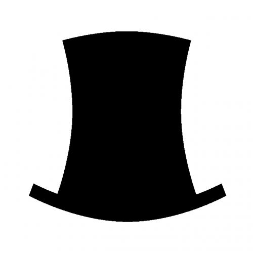 black hat clothing