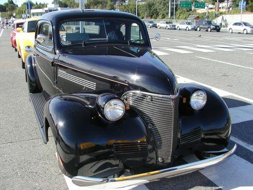 black oldsmobile old timer