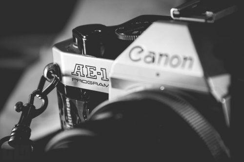 black and white canon film