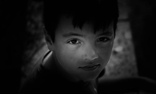 child black and white look