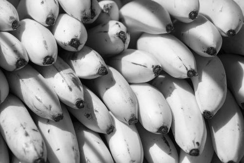 Black And White Bananas