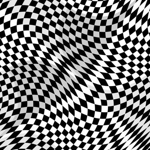 Black & White Checkerboard