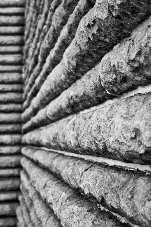 Black And White Granite Wall