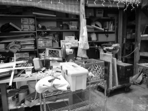 Black And White Warehouse
