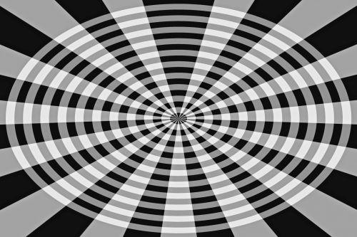 Black And White Wheel