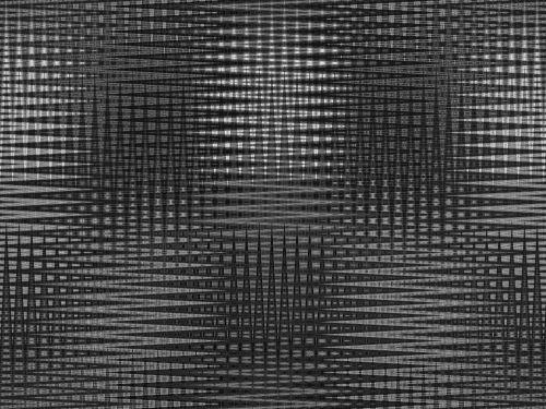 Black And White Zig-zag Pattern