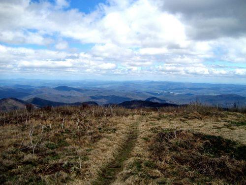 black balsam hiking nature