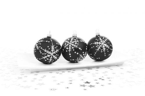 Black Bauble Decoration
