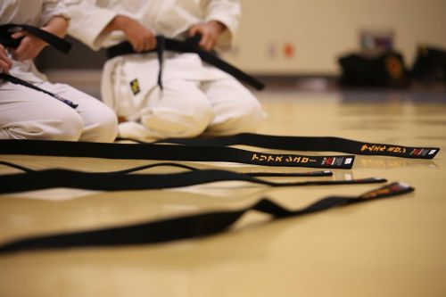 black belt karate traditional