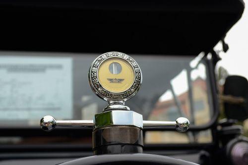 black car historical vehicle veteran
