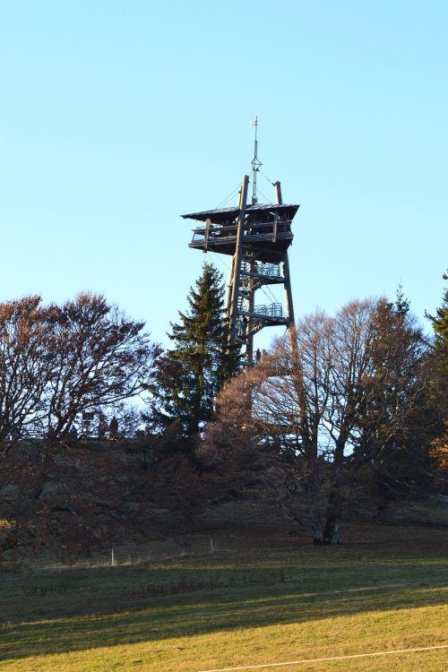 black forest freiburg schauinsland tower