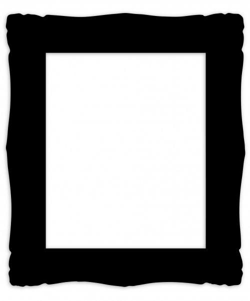 Black Frame Vintage Clipart