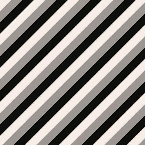 Black Grey White Stripes