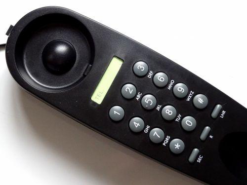 Black House Telephone