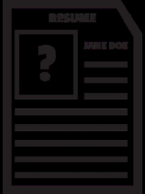 black jane doe resume bio data