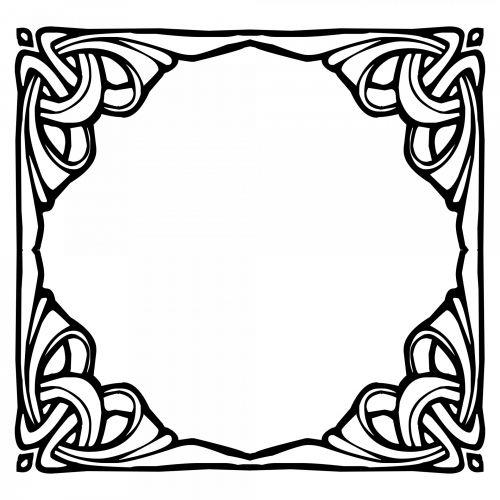 Black Kaleido Frame