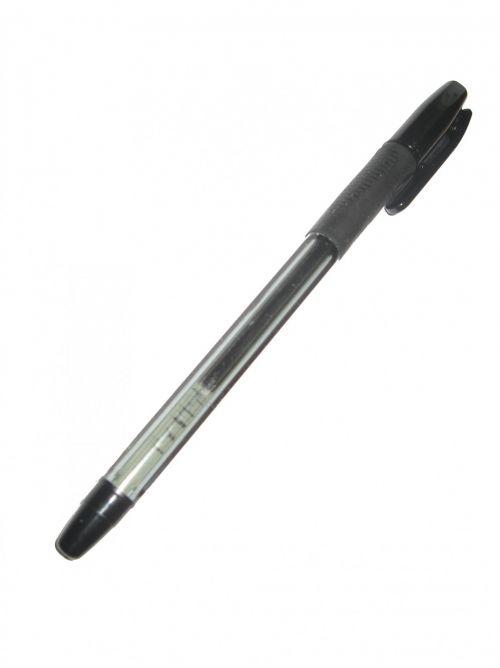 rašiklis, juoda, juodas & nbsp, rašiklis, balta, fonas, Raštinės reikmenys, juodas rašiklis balta fone