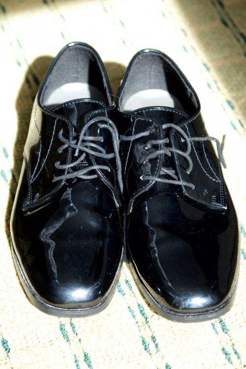 Black Polished Shoes