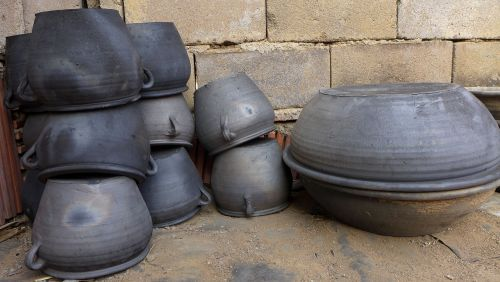 black-pottery folk handicraft handicraft
