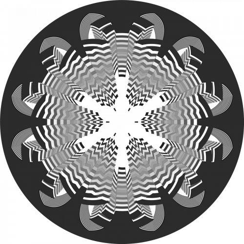 Black Snowflake 4