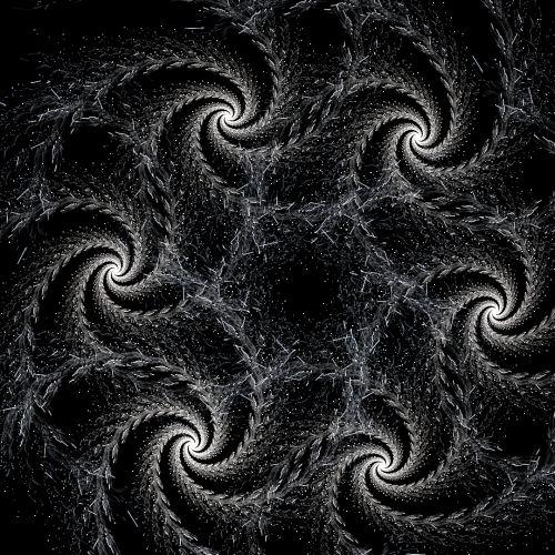 Black Swirls