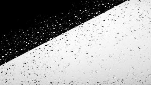 juoda balta,minimalus,minimalistinis,minimalistinis,lietus,lietaus lašai,lietingą