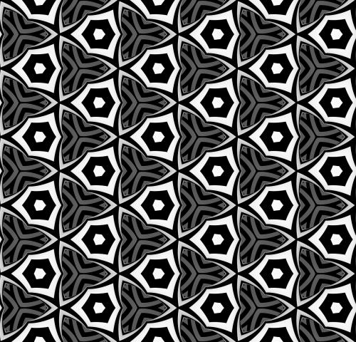 black white pattern design