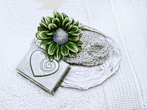 Black White Sketch Flower