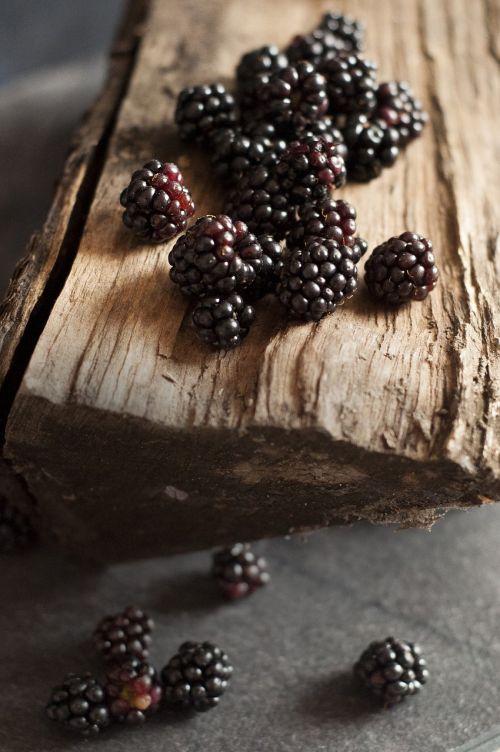 blackberries forest fruit