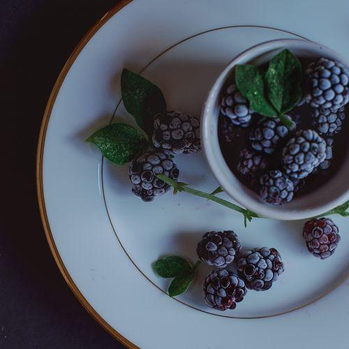 blackberries still life summer
