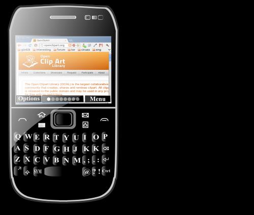 blackberry smartphone calling