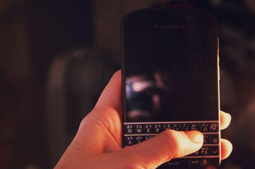 blackberry mobile smartphone