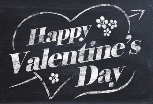 blackboard valentine's day valentine's