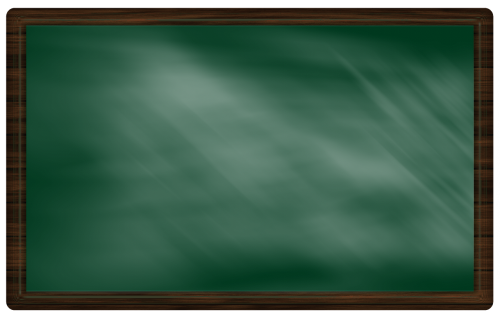 blackboard board frame