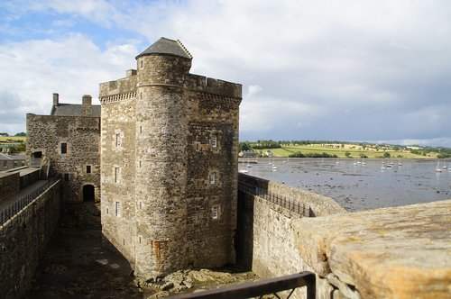 blackness castle  castle  scotland