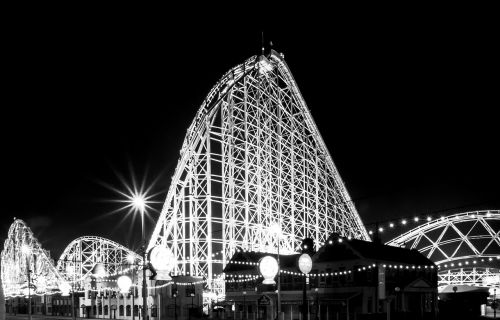 blackpool pleasure beach beach
