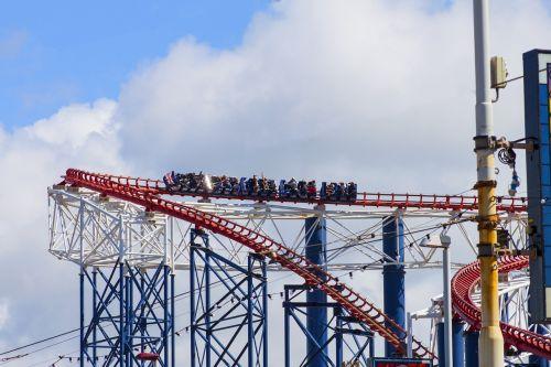blackpool rollercoaster funfair