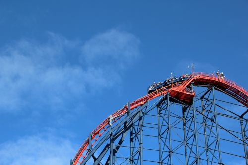 blackpool roller coaster sky