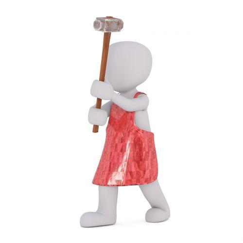 blacksmith apron white man